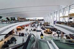 Terminal d'aéroport de Budapest Images libres de droits