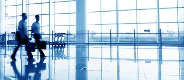 Terminal d'aéroport de Changhaï Pudong Images libres de droits