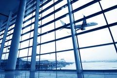 Terminal d'aéroport de Changhaï Pudong Photographie stock libre de droits