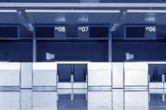 Terminal d'aéroport de Changhaï Pudong, Photographie stock