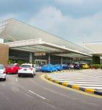 Terminal d'aéroport de Changi, Singapour Photographie stock