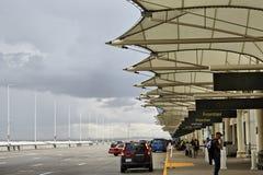 Terminal d'aéroport de Denver International Photo libre de droits