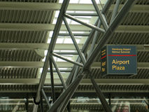 Terminal d'aéroport de Hambourg Photo stock