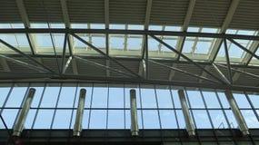 Terminal d'aéroport de Hambourg Photographie stock libre de droits