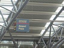 Terminal d'aéroport de Hambourg Images libres de droits