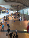 Terminal d'aéroport de Hambourg Photos libres de droits