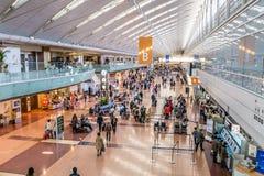 Terminal d'aéroport de Haneda B Images libres de droits