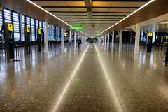 Terminal d'aéroport de Heathrow Image stock