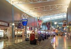 Terminal d'aéroport de Las Vegas Images libres de droits