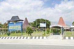 Terminal d'aéroport de lobito de Nicolau à Dili Timor oriental Photographie stock libre de droits