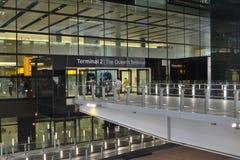 Terminal d'aéroport de Londres Heathrow 2 Photographie stock