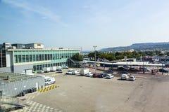 Terminal d'aéroport de Marseille Provence à Marseille Photos libres de droits