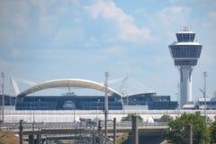 Terminal d'aéroport de Munich 2 Photos stock