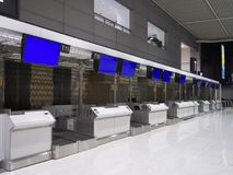 Terminal d'aéroport de Narita 2 pendant la nuit Images libres de droits