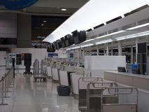 Terminal d'aéroport de Narita 2 pendant la nuit Images stock