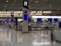 Terminal d'aéroport de Narita 2 pendant la nuit Image libre de droits