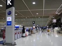 Terminal d'aéroport de Narita 2 tôt le matin Image libre de droits