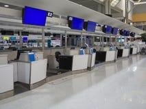 Terminal d'aéroport de Narita 2 tôt le matin Image stock