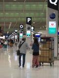Terminal d'aéroport de Narita 2 tôt le matin Photo libre de droits