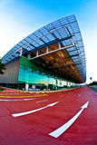 Terminal d'aéroport de Singapour Changi 3 Photographie stock
