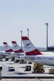 Terminal d'aéroport de Vienne Photo stock