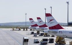 Terminal d'aéroport de Vienne Image libre de droits