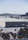 Terminal d'aéroport de Vienne Images stock