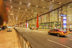 Terminal 3 d'aéroport international capital de Pékin Photographie stock