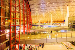 Terminal 3 d'aéroport international capital de Pékin Image libre de droits