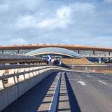 Terminal d'aéroport international capital de Pékin 3, Chine Image stock