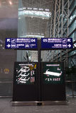 Terminal d'aéroport international de Chengdu Shuangliu 2 Images stock