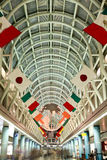 Terminal d'aéroport international de Chicago Ohare Images stock