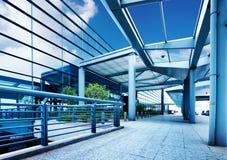 Terminal d'aéroport international de Shanghai Pudong Photo stock