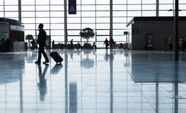 Terminal A d'aéroport international de Shanghai Pudong Photographie stock