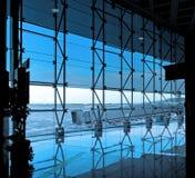 Terminal d'aéroport international moderne Photos libres de droits