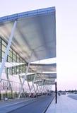 Terminal d'aéroport moderne de Wroclaw Images stock