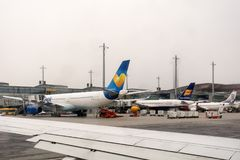 Terminal d'aéroport d'Oslo Gardermoen Norvège Images stock