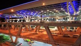 Terminal d'aéroport simple de construction de Suvarnabhumi Photo libre de droits