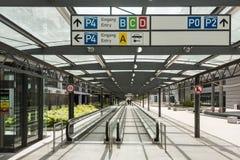 Terminal d'aéroport Stuttgart (Allemagne) Image libre de droits