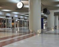 Terminal d'aéroport vide - entrée Images stock