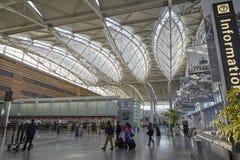 Terminal d'aéroport Photographie stock libre de droits