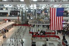 Terminal d'aéroport de JFK Image libre de droits