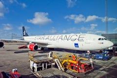 Terminal d'avion Image libre de droits
