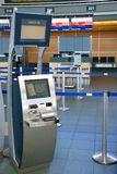 Terminal d'enregistrement Photo libre de droits