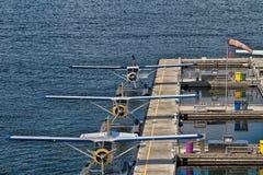 Terminal d'hydravion de centre de vol de port de Vancouver Photographie stock libre de droits