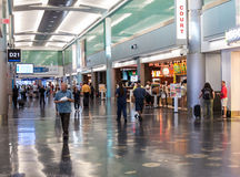 Terminal D at Miami International Airport Stock Photos