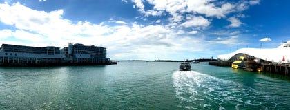 Terminal da autoridade portuária de Auckland fotos de stock royalty free
