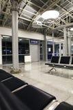 Terminal dans l'aéroport fermé Photographie stock libre de droits