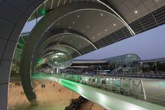 Terminal de aeroporto 3 de Dubai Imagem de Stock Royalty Free