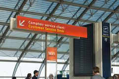 Terminal de aeroporto Foto de Stock Royalty Free